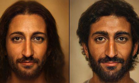 Retrato, Jesús de Nazareth, Bas Uterwijk, programa, Artbreeder