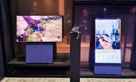 Samsung, The Sero, televisión, tecología, televisor, giratorio