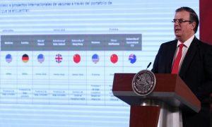 vacunas, covid-19, SRE, Marcelo Ebrard, conferencia matutina, salud pública