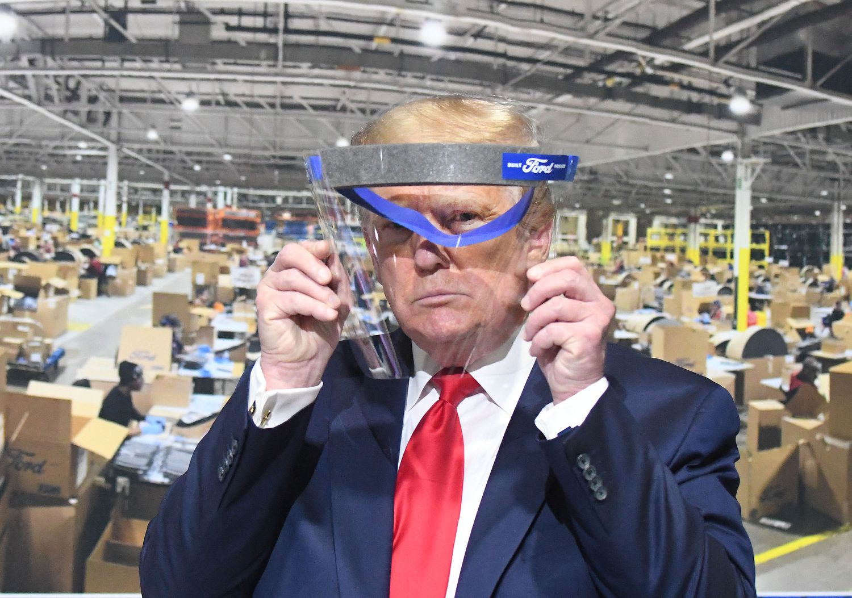 Donald Trump, esconder, pandemia, covid-19, Washington, emergencia sanitaria, EEUU