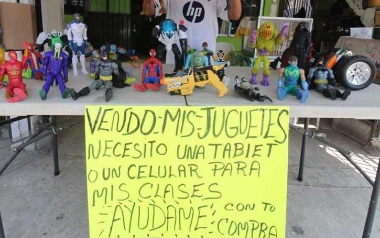 juguetes, estudios, primaria, menor de edad, pobreza, marginación, Tamaulipas