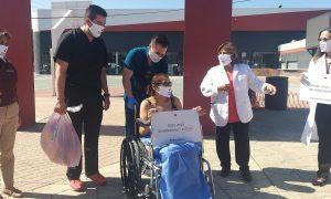 hospital auxiliar zonkeys, pacientes recuperados, Covid-19, recuperados covid-19