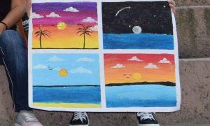 carteles, pintura, Cecut