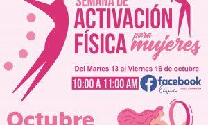 imdet, actividades, mujeres, cáncer, mama
