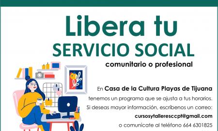 casa cultura, playas, servicio social