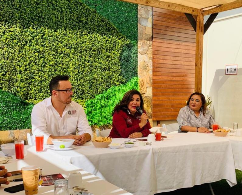 informe, actividades, Baja California, Mriam Cano, diputada