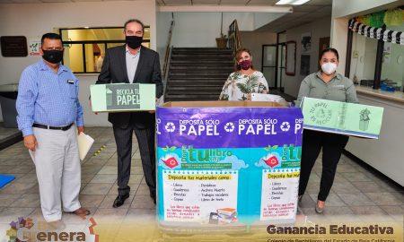 cobachbc, Cobach BC, campaña de reciclaje, reciclaje, Fundación Hélice,