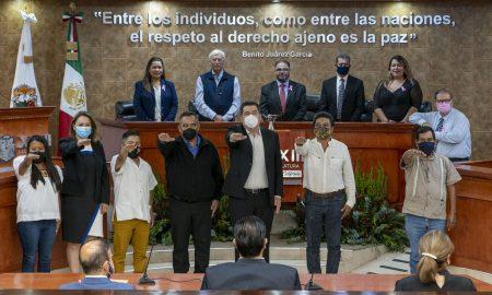protesta, Jaime Bonilla Valdez, San Quintín, Congreso