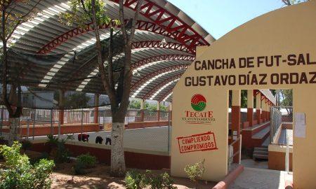 gimansio, Díaz Ordaz, Tecate