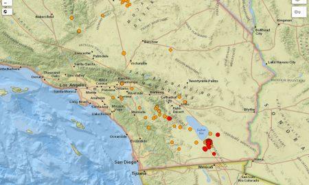 terremoto, california, magnitud, falla, de, san andrés