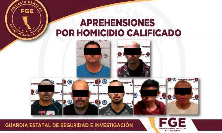 FGE, detenidos, homicidio calificado,