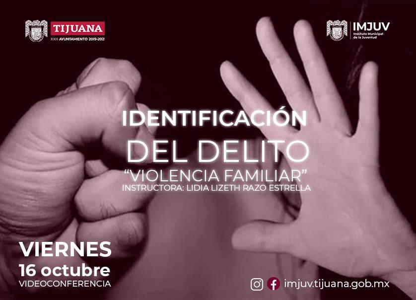 IMJUV, prevención de violencia, Violencia Familiar,