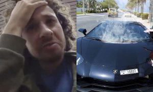 Luisito Comunica, Lamborghini, Dubai, deuda, influencer, accidente