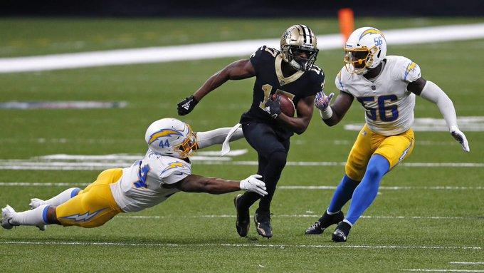 Monday Night Football: En tiempo extra, los Saints derrotan a los Chargers