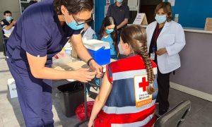 Secretaría de Salud de Baja California, vacuna, influenza, Grupos de rescate, paramédicos,
