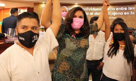 protesta, San Quintín, Miriam Cano, consejales