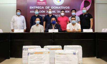 donativo, Cubre bocas, Ayuntamiento de Tijuana,