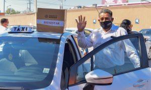 apoyos, taxistas, gobierno de México,