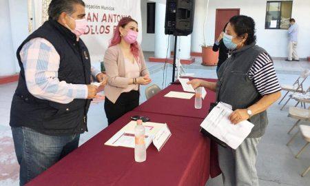 apoyos económicos, madres solteras, Delegación San Antonio de los Buenos,