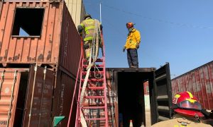Bomberos Tijuana, taller, incendios en edificios de gran altura,