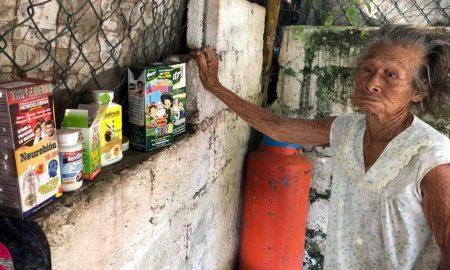abuelita, vulnerada, apoyo, Veracruz, situación de calle
