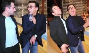Omar Chaparro, Adal Ramones, baile, video viral, polémica