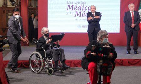 AMLO, Médico, Salud pública, Día del Médico, conferencia matutina, Palacio Nacional, conmemoración