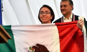Ana Paula Jiménez, Reino Unido, Matemáticas, medallas, mexicana, prodigio