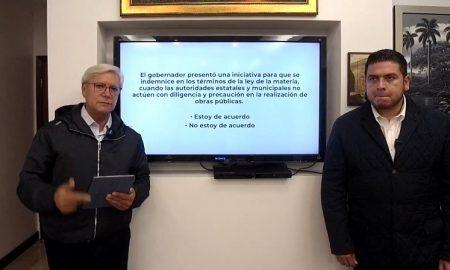 Jaime Bonilla, Isaías Bertín, transmisión, iniciativa, ley, indemnización, personas, obras, gobierno