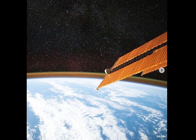 Brillo, atmósfera, Tierra, Estación Espacial Internacional