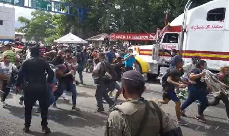 Caravana Migrante, Honduras, Guatemala, Estados Unidos, México, Frontera