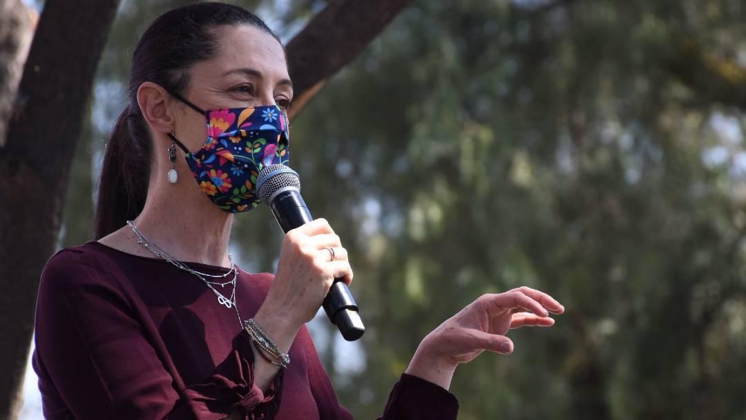 Claudia Sheinbaum, jefa de gobierno, covid-19, CDMX, pandemia