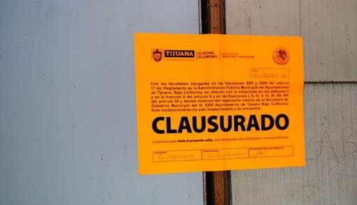 ayuntamiento de Tijuana, operativos de inspección, clausuran comercios,