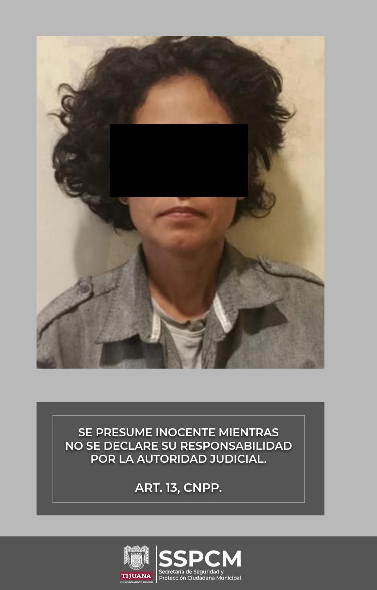 detenida, Vía Rápida Poniente, lanzapiedras, conductores, arresto de delincuentes,