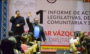 Diputado, Julio César Vázquez Castillo, informe, actividades