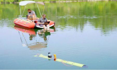 Drones, limpieza, agua, mar,