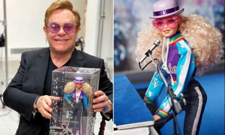 Elton John, muñeca, Barbie, 45 aniversario, cantante, Mattel