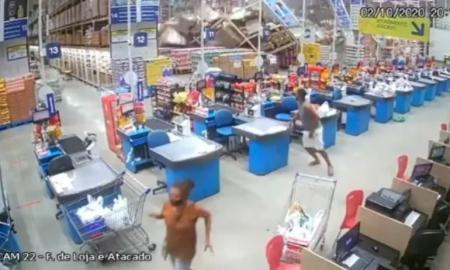 repisas, supermercado, accidente, Brasil, Sao Paulo, víctímas
