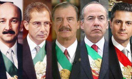 México, expresidentes, consulta