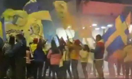 Fiesta, América, aficionados, video viral