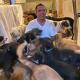 cuida, animales, huracán Delta, desastre natural, refugio, albergue, rescate animal