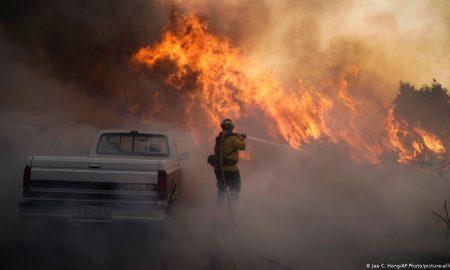 Incendio, California, EEUU, calentamiento global, medio ambiente, bomberos