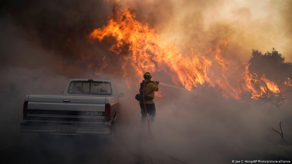 Incendio, California, EEUU, calentamiento global, medio ambiente, bomberos