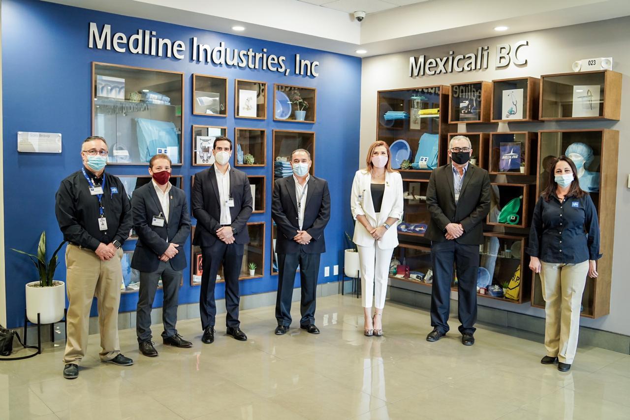 empresa, sector médico, industria, inversión, Mexicali, Gobierno municipal