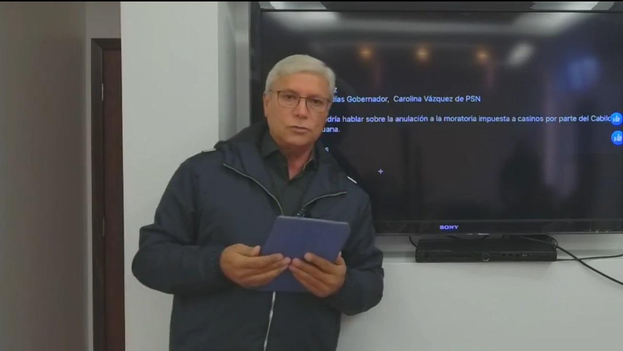 Jaime Bonilla, moratoria, Cabildo, casinos, Grupo Caliente, Jorge Hank