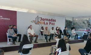 Jornada por la Paz, Tecate, Jaime Bonilla, La Coyotera