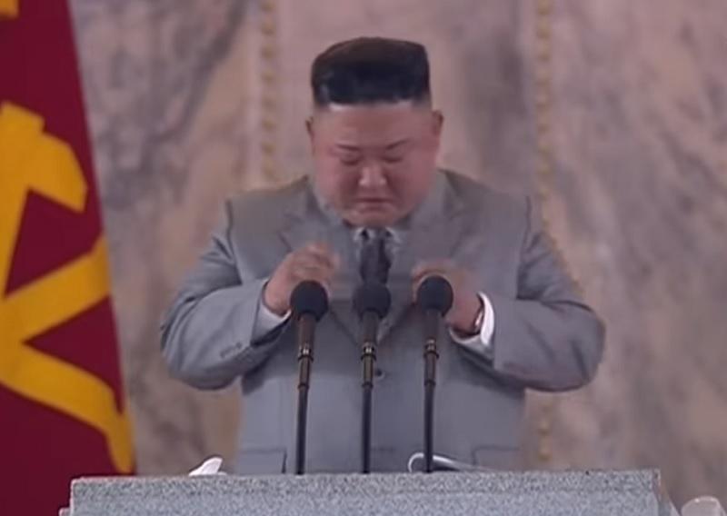 Kim Jong-Un, llora, discurso, Corea del Norte, disculpa, pueblo