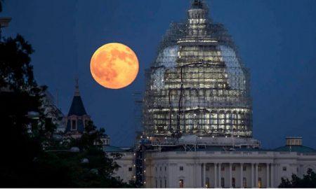 Luna, llena, foto, NASA