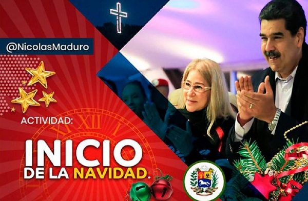 Nicolás Maduro, Venezuela, inicio, Navidad, octubre