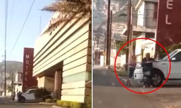 novio, engaño, motel, infidelidad, Nuevo León, video viral, polémica